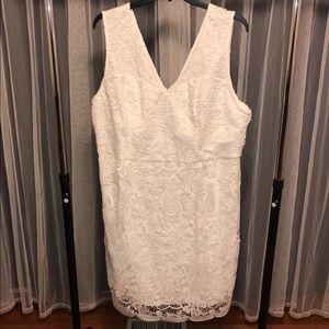Size 26 modcloth lace wedding dress